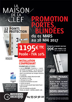promotion porte blindee
