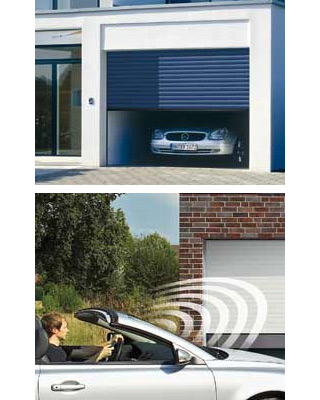 Porte de garage enroulable rollmatic h rmann la maison for Porte de garage enroulable hormann prix