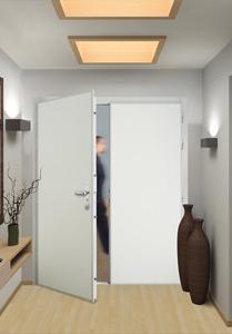 Porte blind e picard diamant double vantaux la maison de for Porte entree double vantaux